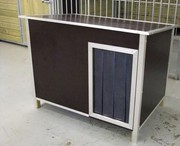 Phenolic Brown Waterproof Dog Cabins